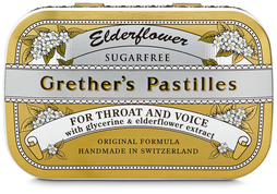 Grether's Pastilles Elderflower, 2 x 60 g