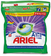 Ariel All-in-1 Pods Colorwaschmittel, 50 Stück (50 WG)