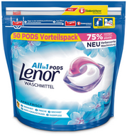 Lenor All-in-1 Pods Aprilfrisch, 50 Stück (50 WG)
