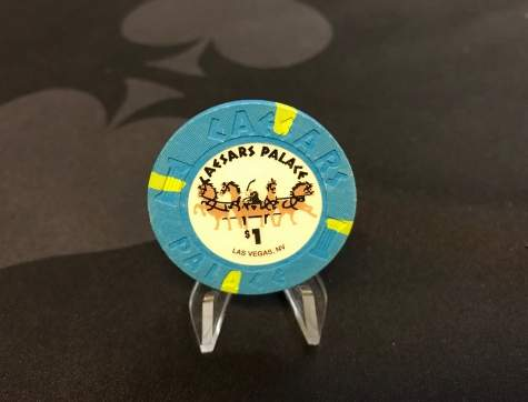 1$ Original Chip aus Las Vegas (Poker, Blackjack, Roulette)