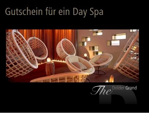 Dolder Grand Hotel Wertgutschein für ein Day Spa CHF 380 in The Dolder Grand
