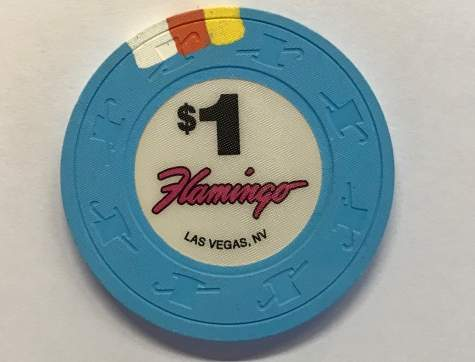 1$ Chip Flamingo in Las Vegas (Poker, Blackjack, Roulette)
