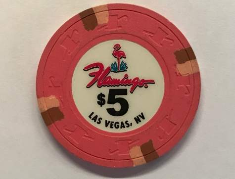 5$ Chip Flamingo in Las Vegas (Poker, Blackjack, Roulette)
