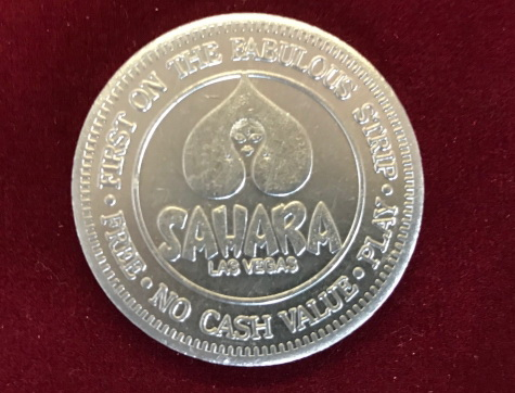 Token / Münze - Sahara Casino Las Vegas Limited Edition Gaming Token