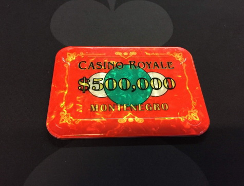 Casino Royale $1/2 Millionen Plaque (Poker-Plakette)