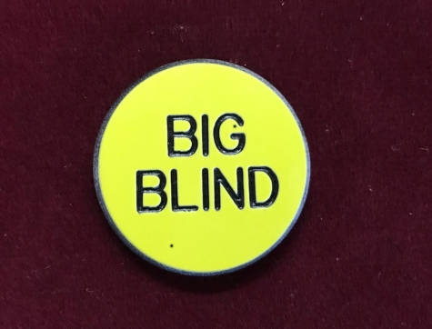 Big Blind Poker Button