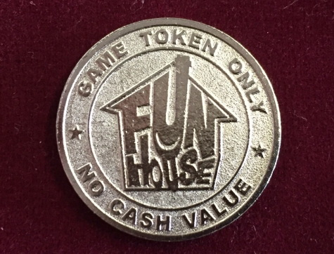 Token / Münze - Fun House - VIP