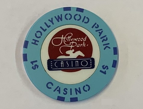 Chip $1 Poker Casino Hollywood Park Casino Los Angeles USA