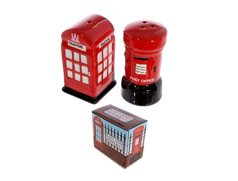 London Post Box & Telefonzelle Salz & Pfeffer Set