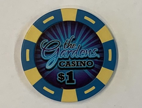 Chip $1 Poker Casino The Gardens Casino, Hawaiian Gardens USA