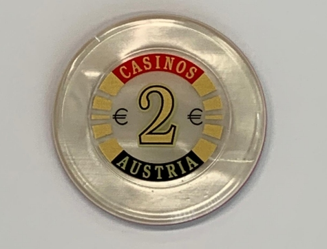 Chip 2 Casinos Austria (Poker, Blackjack, Roulette)