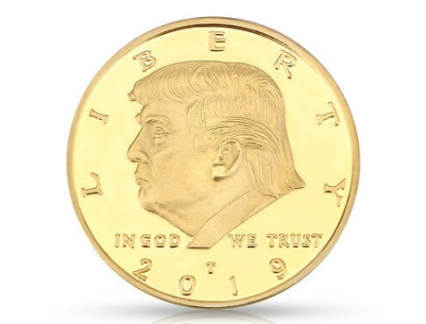 Liberty Donald Trump Goldmünze